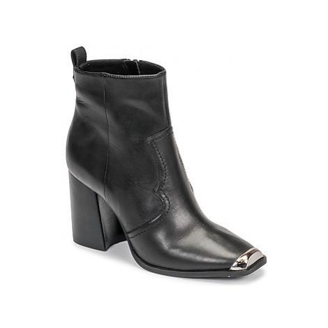 Steve Madden ENZO women's Low Ankle Boots in Black