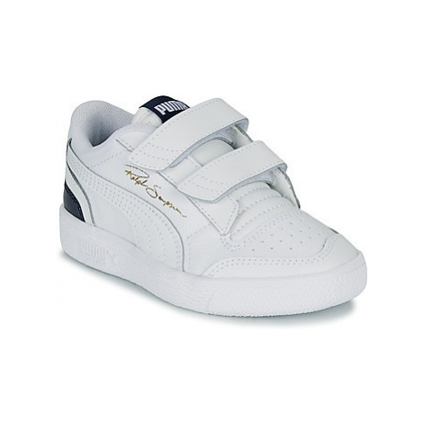 Puma RALPH SAMPSON LO PS girls's Children's Shoes (Trainers) in White