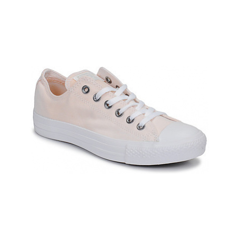 Pink women's canvas trainers