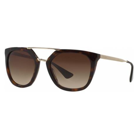 Prada Woman PR 13QS - Frame color: Tortoise, Lens color: Brown, Size 54-20/140