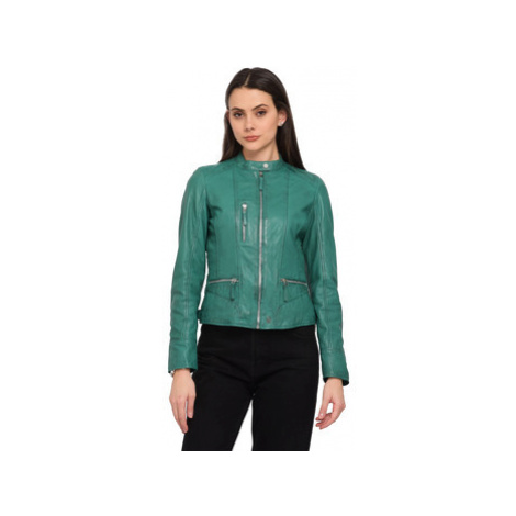 Oakwood EACH leather jacket women's Leather jacket in Green