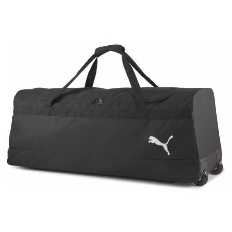 Puma TEAM GOAL 23 WHEEL TEAMBAG XL black - Wheeled sports bag