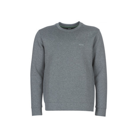 BOSS SALBO X men's Sweatshirt in Grey Hugo Boss