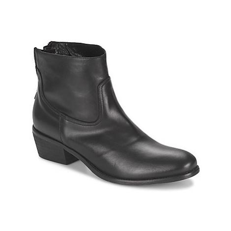 Meline SOFMET women's Mid Boots in Black