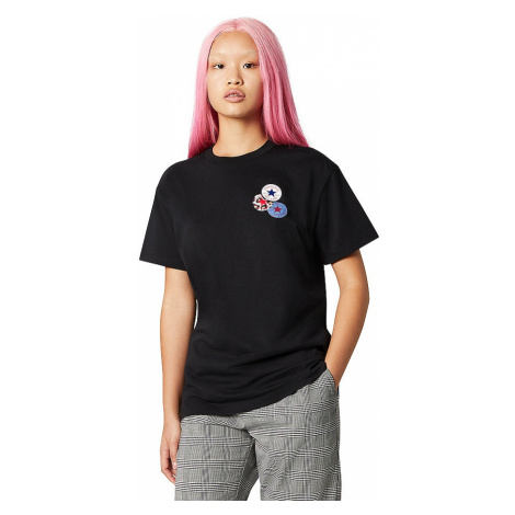 T-Shirt Converse Distort/10019115 - A02/Converse Black - women´s