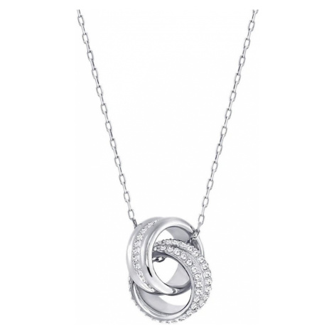 Swarovski Further White Crystal Intertwined Necklace