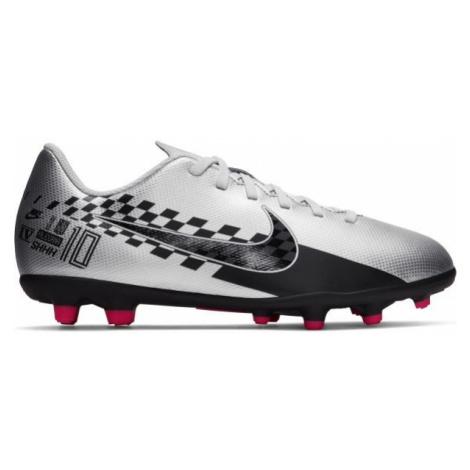 Nike JR MERCURIAL VAPOR 13 CLUB NJR MG white - Boys' football boots