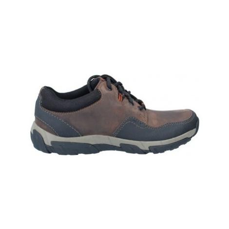 Clarks Walbeck Edge Men's Weatherproof Shoes men's in Brown