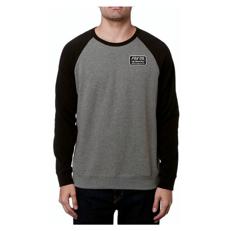 sweatshirt Fox Resin Crew - Heather Graphite - men´s