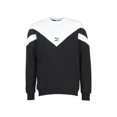 Puma ICONIC MCS CREW men's Sweatshirt in Black