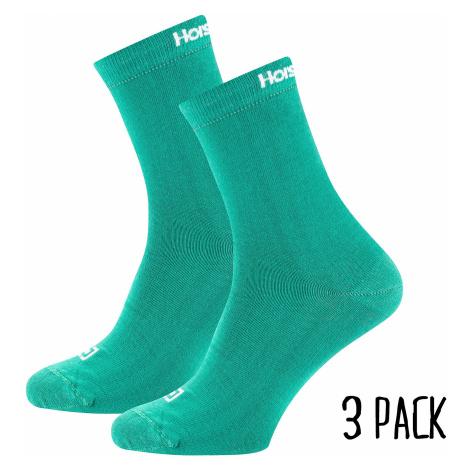 socks Horsefeathers Una 3 Pack - Bluegrass - women´s