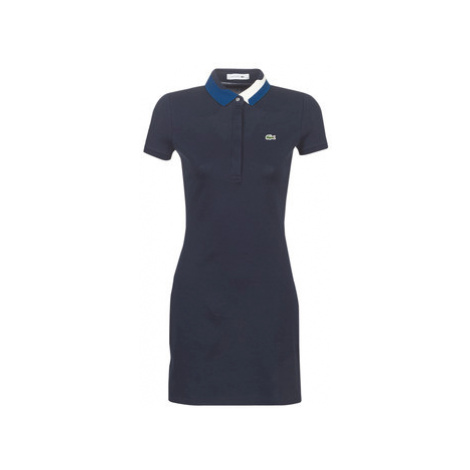 Lacoste EF8744 women's Dress in Blue