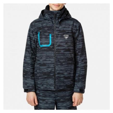 Rossignol BOY POLYDOWN PR JKT black - Children's ski jacket