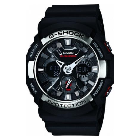 Mens Casio G-Shock Alarm Chronograph Watch GA-200-1AER