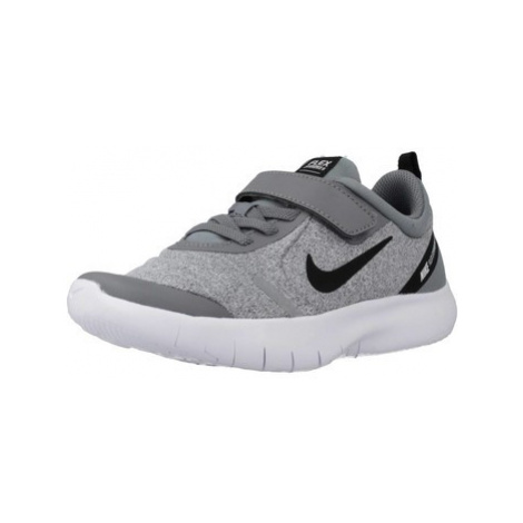 Nike FLEX EXPERIENCE RN 8 PS boys's Children's Shoes (Trainers) in Grey