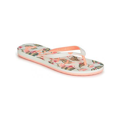 Roxy TAHITI VI J SNDL GSW women's Flip flops / Sandals (Shoes) in White
