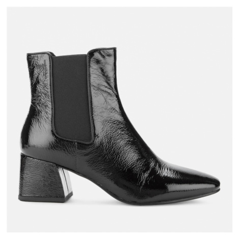 Vagabond Women's Alice Patent Leather Heeled Chelsea Boots - Black - UK