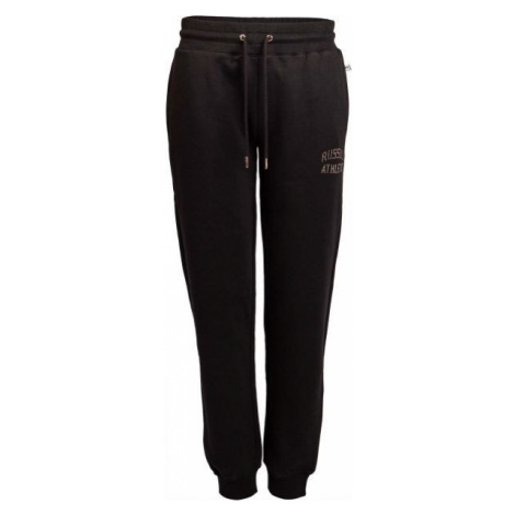 Russell Athletic CUFFED PANT ICONIC ARCH LOGO black - Women's sweatpants