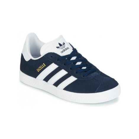 Adidas Gazelle C girls's Children's Shoes (Trainers) in Blue