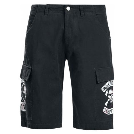 The Walking Dead - Survivor - Cargo shorts - black