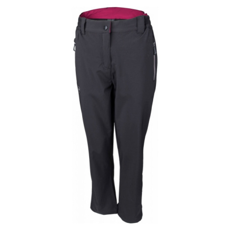 Hi-Tec LADY ALVARO dark gray - Women's softshell trousers
