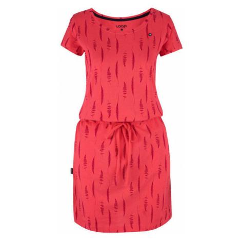 Loap BALINA pink - Women's dress