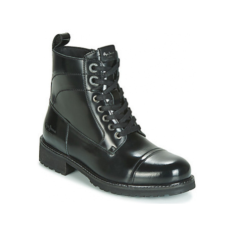 Pepe jeans MELTING BASS women's Mid Boots in Black