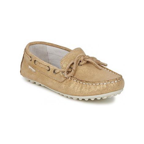 Garvalin KIOWA JUVENIL girls's Children's Loafers / Casual Shoes in Gold Garvalín