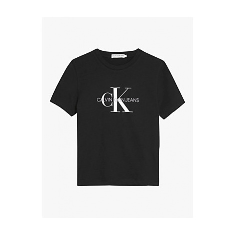 Calvin Klein Boys' Organic Cotton Monogram Logo T-Shirt