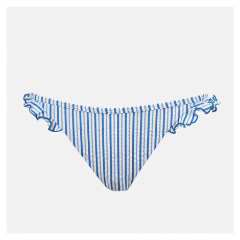 Tommy Hilfiger Women's Cheeky Bikini Bottoms - Seersucker Blue