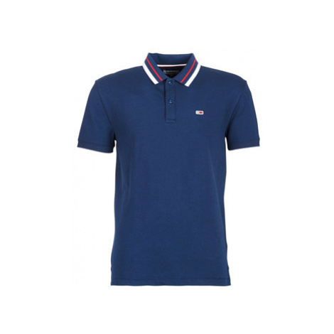 Tommy Jeans TJM TOMMY CLASSICS POLO men's Polo shirt in Blue Tommy Hilfiger