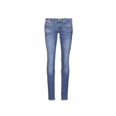 Freeman T.Porter ALEXA MAGIC DENIM women's Skinny Jeans in Blue Freeman T. Porter