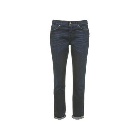 7 for all Mankind JOSEFINA women's Skinny Jeans in Blue