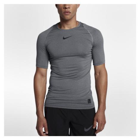 Nike Pro Men's Short-Sleeve Training Top - Grey