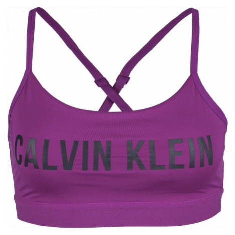 Calvin Klein LOW SUPPORT BRA violet - Women's sports bra