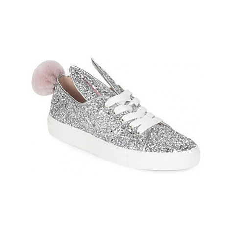 Minna Parikka TAIL SNEAKS women's Shoes (Trainers) in Silver