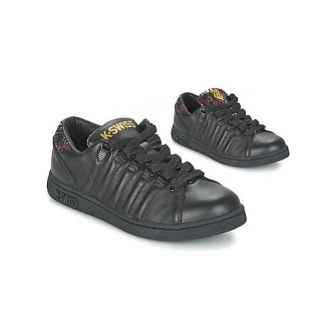 K-Swiss LOZAN TONGUE TWISTER women's Shoes (Trainers) in Black