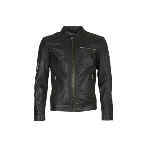 Selected NEW TYLOR men's Leather jacket in Black