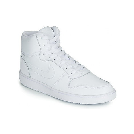 Nike EBERNON MID men's Shoes (High-top Trainers) in White