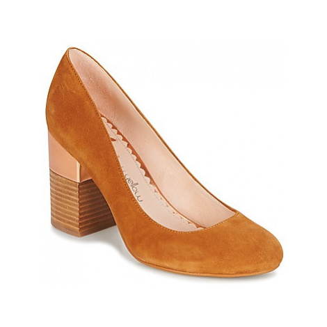 Mellow Yellow DABOL women's Court Shoes in Brown