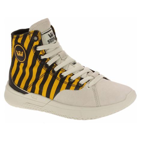 shoes Supra Statik - Caution Stripe/Bone
