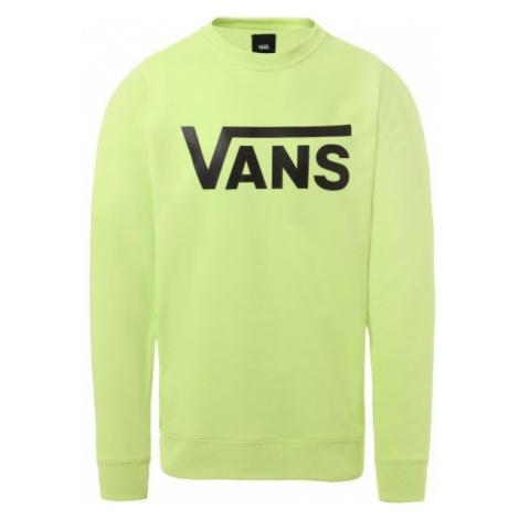 Vans MN VANS CLASSIC CREW green - Men's hoodie