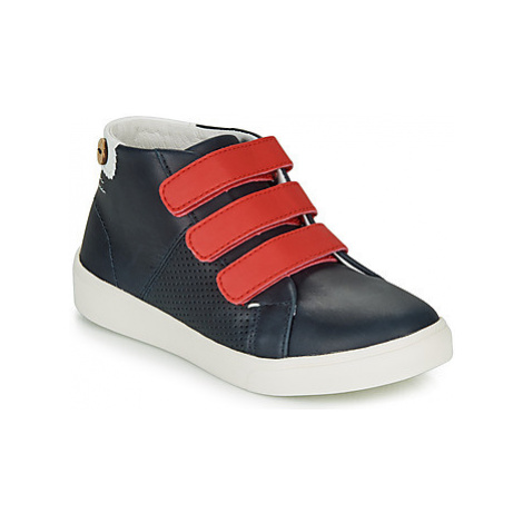 Faguo ASPENLOW LEATHER girls's Children's Shoes (Trainers) in Blue