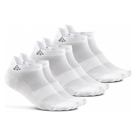 socks Craft 1906059/Shaftless 3 Pack - 900000/White