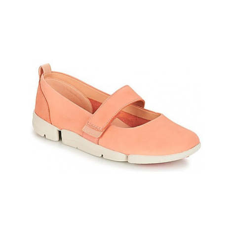 Clarks Tri Carrie women's Shoes (Pumps / Ballerinas) in Pink