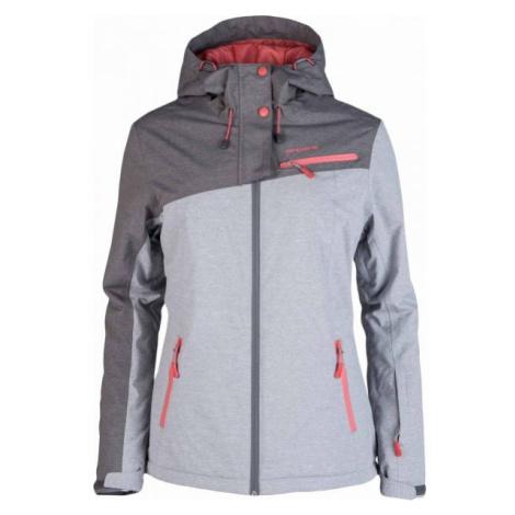 Arcore AKIRA gray - Women's skiing jacket