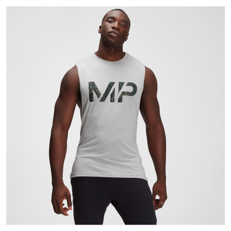 MP Men's Adapt drirelease® Camo Print Tank - Storm Grey Marl
