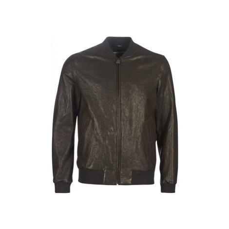 Chevignon TEDDY BASIQUE VEGETAL men's Leather jacket in Brown