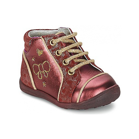 Catimini CARASSIN girls's Children's Mid Boots in Red