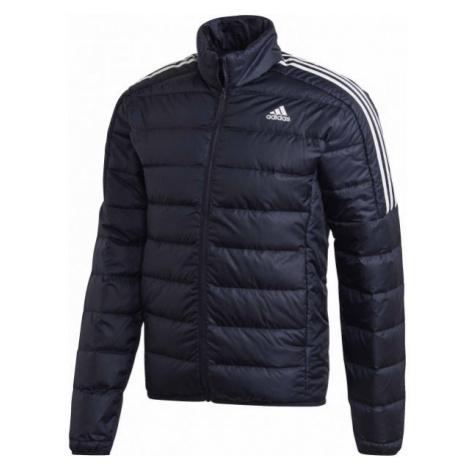 adidas ESS DOWN JACKET dark blue - Men's jacket